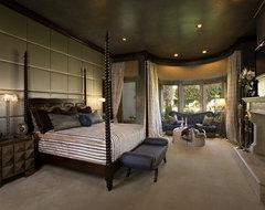 Venetian Eclectic Bedroom mediterranean-bedroom