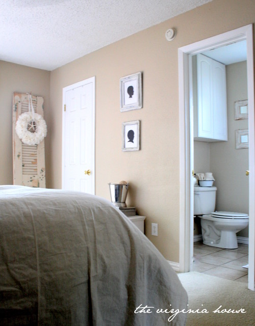Master bedroom white and cream traditional bedroom Houzz master bedroom photos