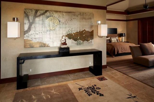 master bedroom asiatisch schlafzimmer hawaii von willman interiors gina willman asid. Black Bedroom Furniture Sets. Home Design Ideas