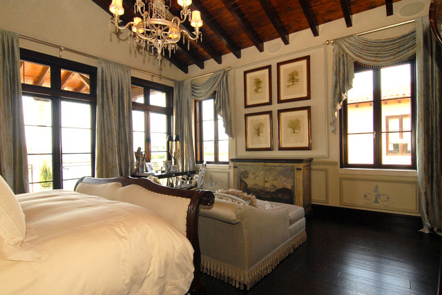 Master Bedroom Window Treatments Traditional Miami