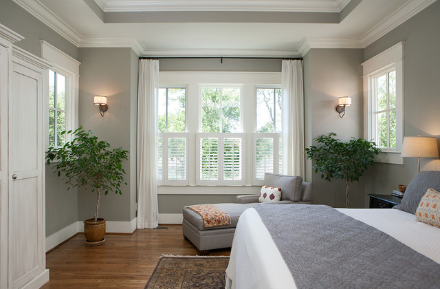 Master Bedroom Windows - Arts & Crafts - Bedroom - Nashville ...