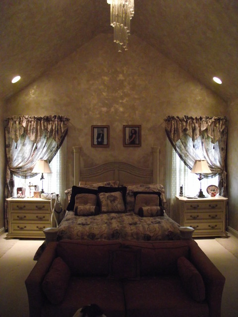 Master Bedroom With Cathedral Ceiling Traditional Bedroom Other Metro By Gantt 39 S Decorating