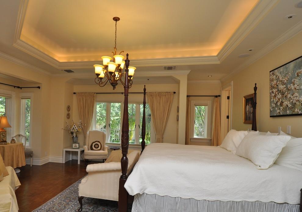 Bedroom - traditional bedroom idea in Austin