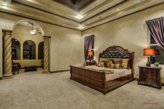 Master Bedroom With Sitting Area Traditional Bedroom Other Metro By St George Luxury