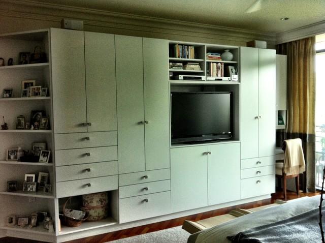 Master Built-ins - Modern - Bedroom - Atlanta