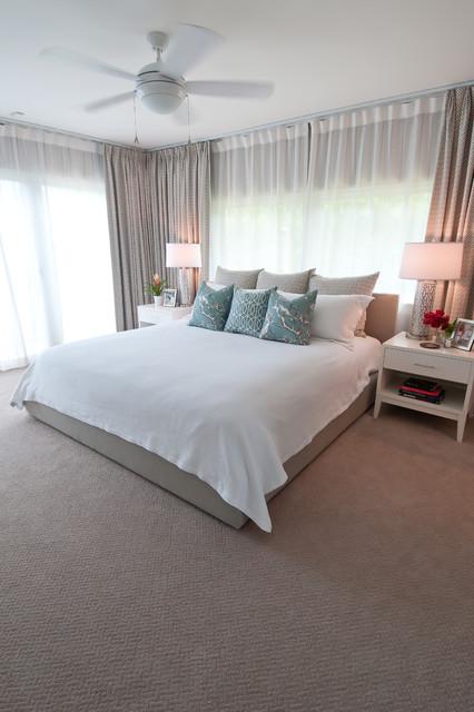 Master contemporary-bedroom