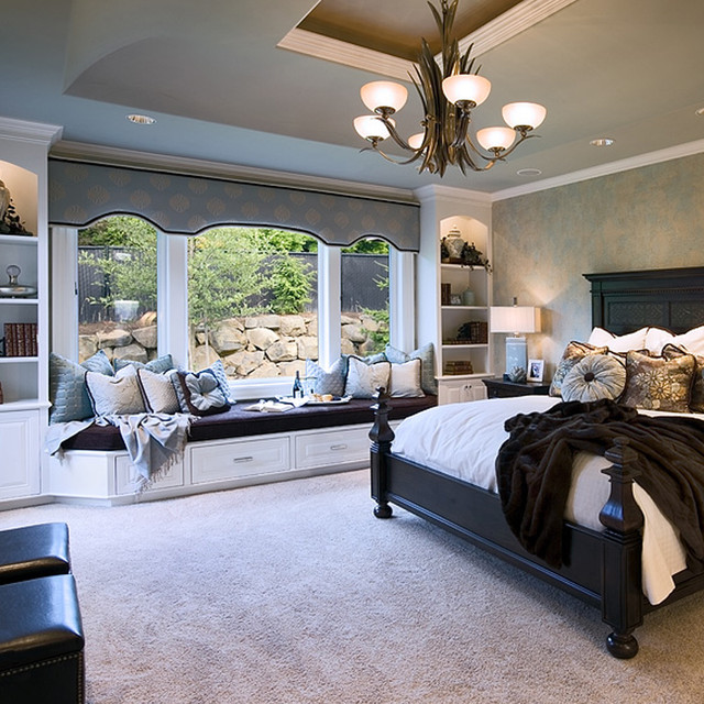 master retreat traditional bedroom portland by