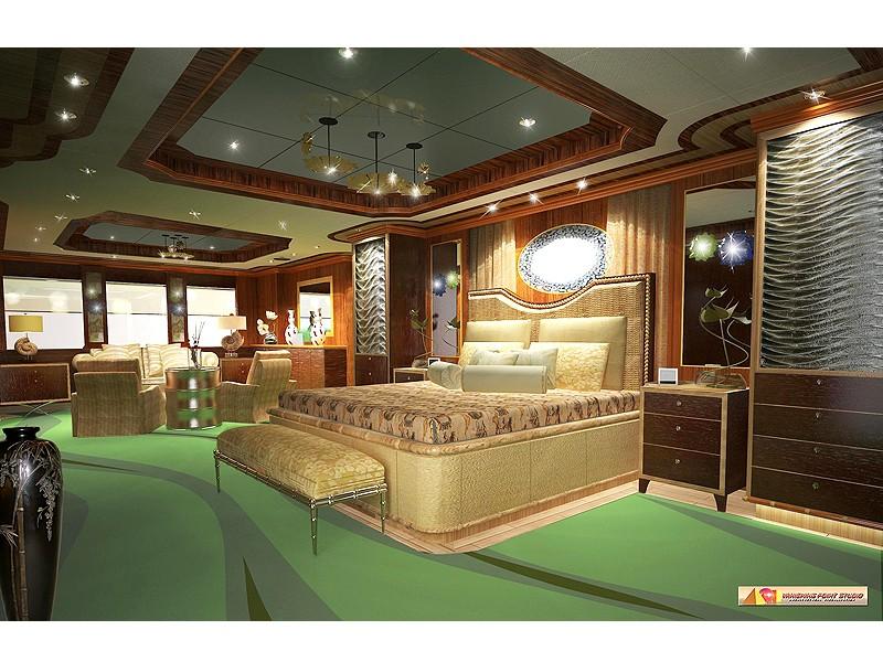 Foto di una camera da letto boho chic