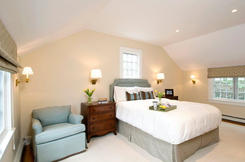 Photo Credit: Traditional Bedroom By Wellesley Hills General Contractors  Landmark Services Inc
