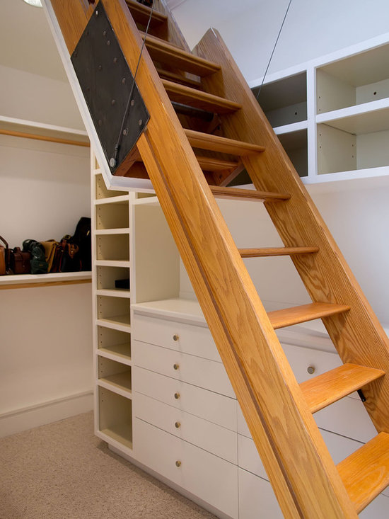 Attic Access Stairs Home Design Ideas Pictures Remodel