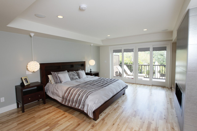 Master suite build out contemporary bedroom san francisco by bmf construction for Convert garage to master bedroom