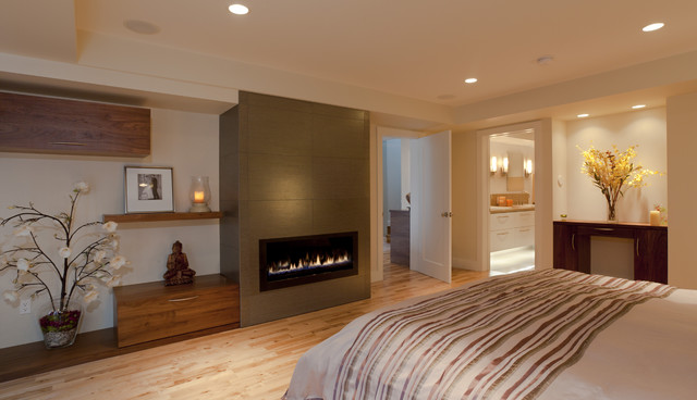 Master Suite Build Out Of Garage Contemporary Bedroom San Francisco B