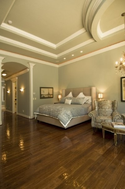 Master suite traditional bedroom little rock by for Little rock custom home builders