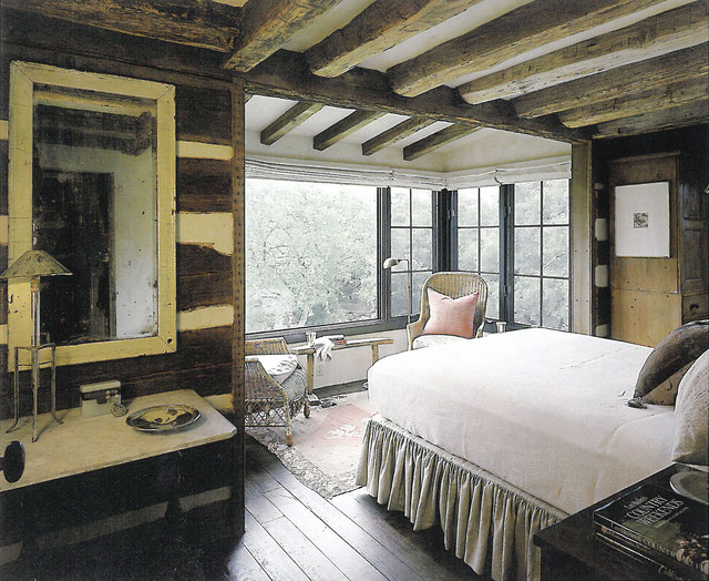 Master Suite Rustic Bedroom Austin By Chas Architects