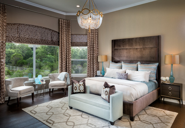 Master Suite Transitional Bedroom Austin By Gingerwood