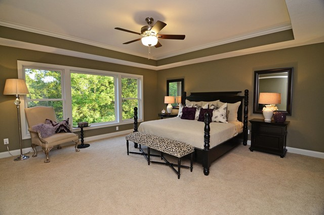 Master Suite traditional bedroom