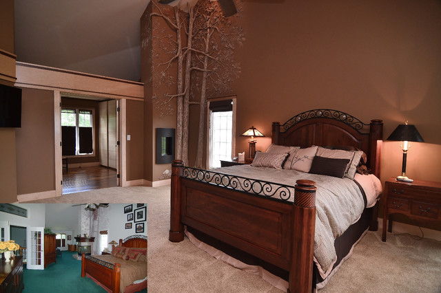 Master Suite Traditional Bedroom Other Metro By Kaufman Construction Design And Build