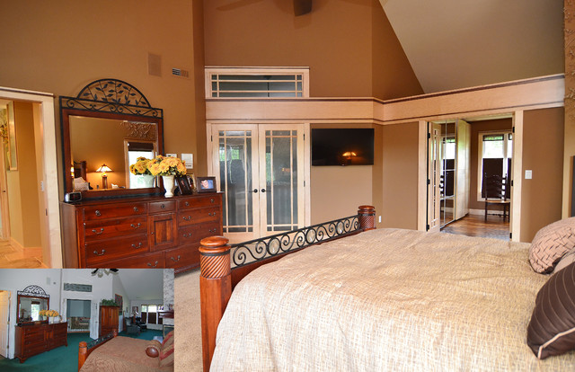 Master Suite Traditional Bedroom Other By Kaufman Construction Design And Build