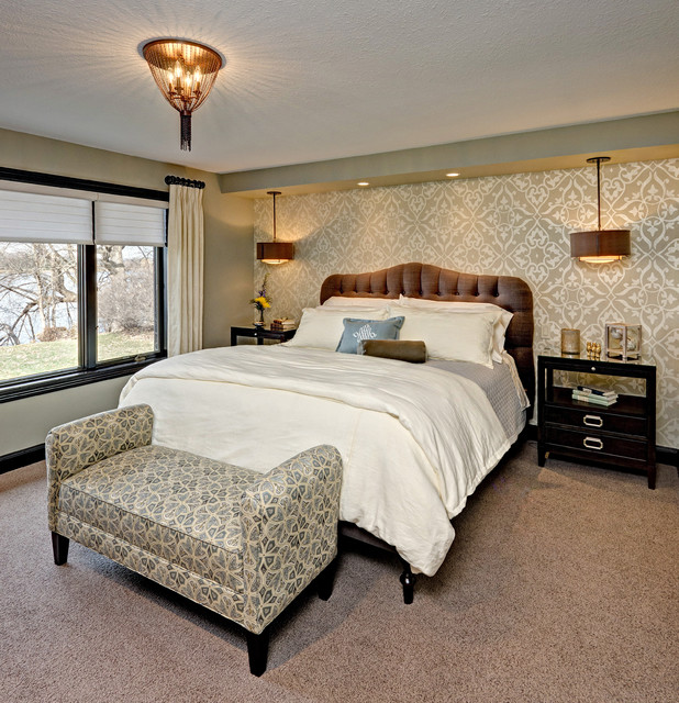 Master Suite Remodel Che Bella Interiors Traditional