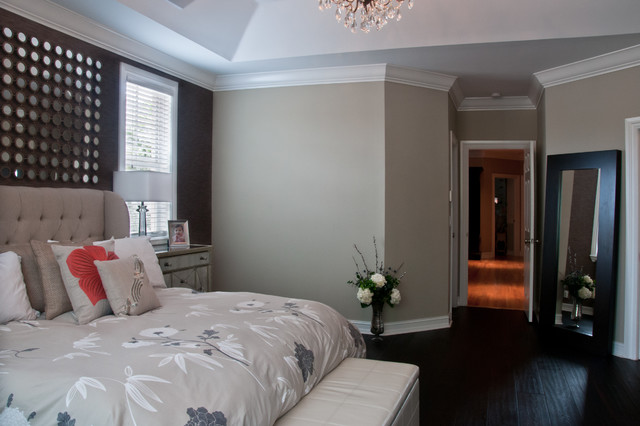 Master Suite Remodel Transitional Bedroom Miami By Dawnelise Interiors