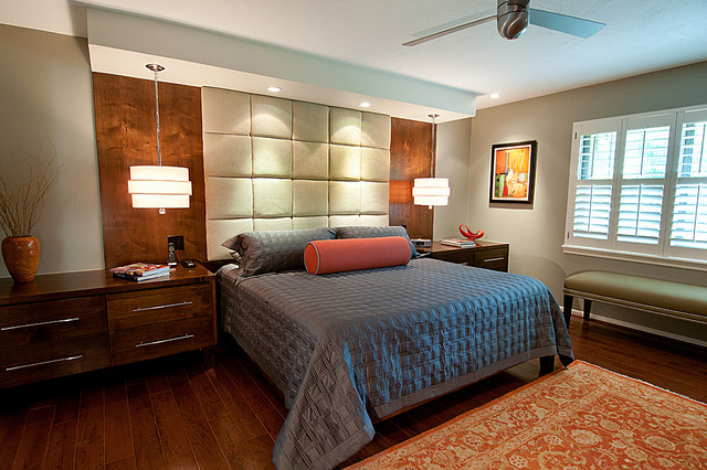 Master Suite Remodel Memorial Contemporary Bedroom Houston By Greym