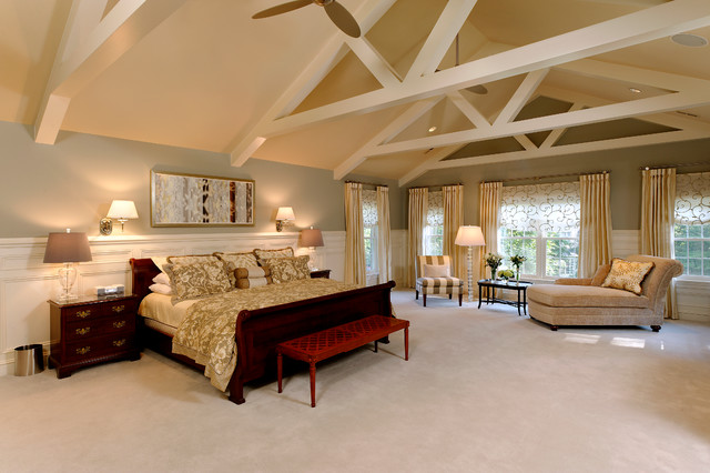 Master suite renovation traditional bedroom dc metro by great falls construction Master bedroom ideas houzz