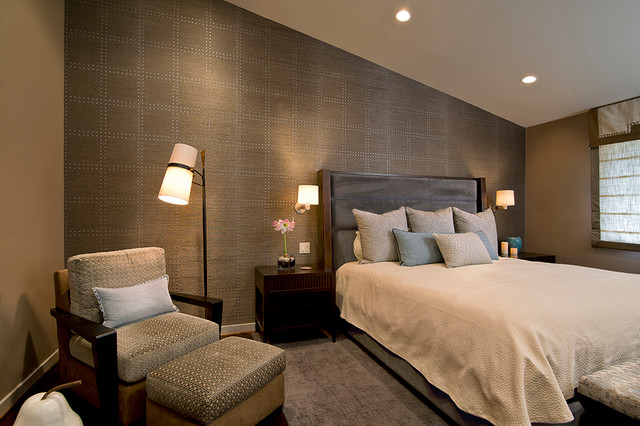 Master Suite Renovation Contemporary Bedroom DC Metro By L S Design