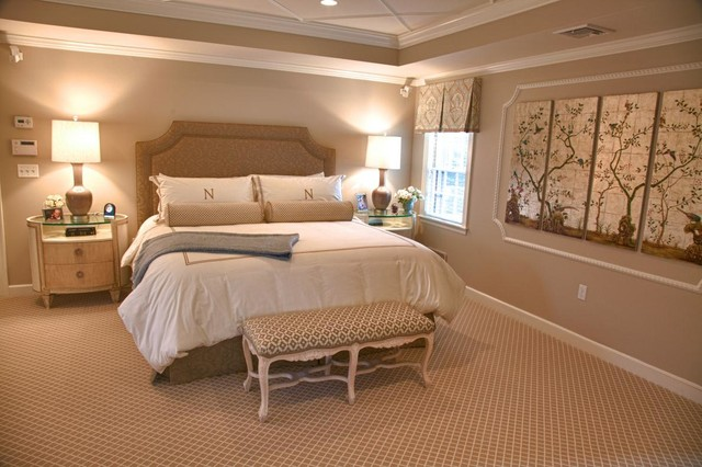 Master suite traditional bedroom boston by the Houzz master bedroom photos