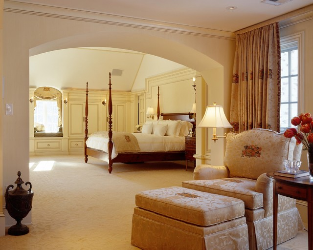 Master suites traditional bedroom boston by jan gleysteen architects inc Master bedroom ideas houzz