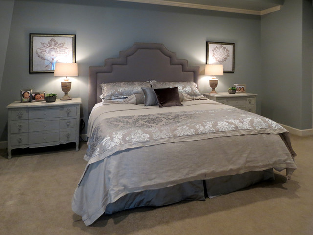 Master Suites Contemporary Bedroom Houston By The Designers Niche
