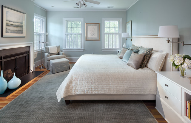 master sweet blue transitional bedroom dc metro by 15481 | transitional bedroom