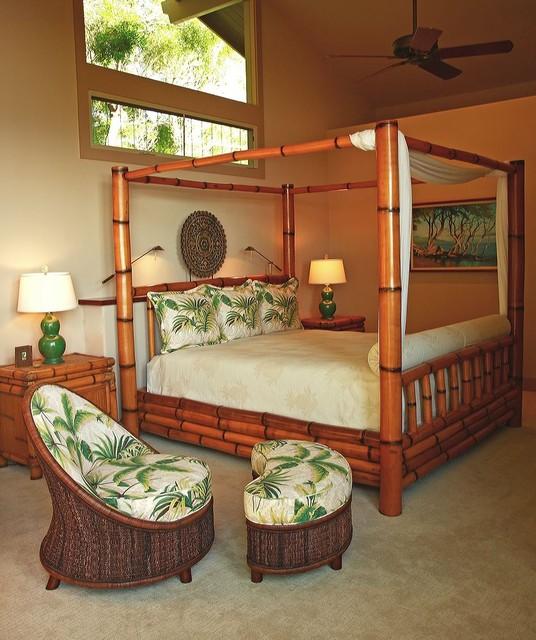 Mauna Kea Fairways Residence tropical-bedroom