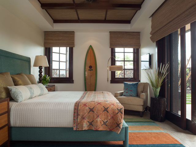 Mauna Kea home - Tropical - Bedroom - Hawaii - by ...