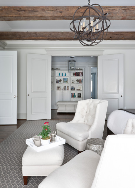 Mclean house transitional bedroom dc metro by for Christine huve interior designs