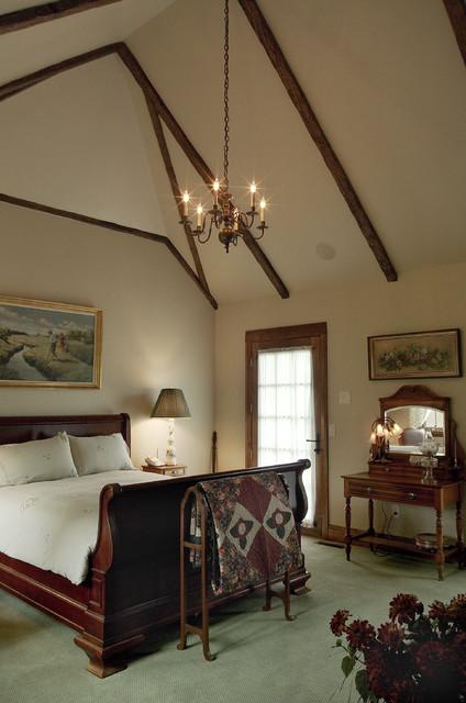 Meadowmoor Cottage Interior traditional-bedroom