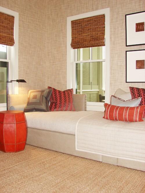 Sofá-cama aproveita o pouco espaço para criar mais de um ambiente