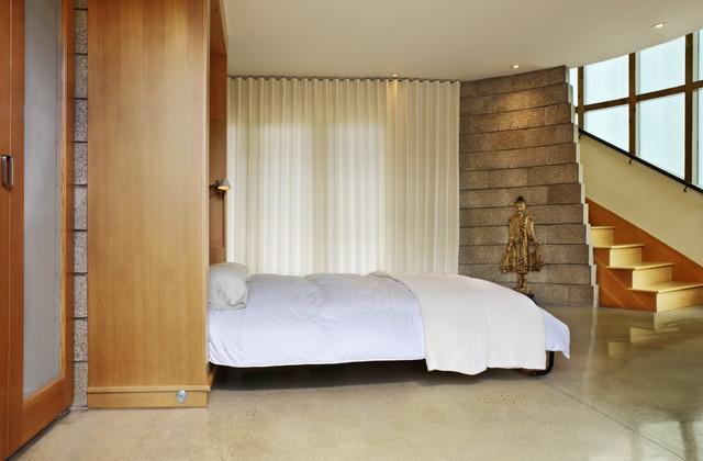 meditation pavilion modern schlafzimmer denver von barrett studio architects. Black Bedroom Furniture Sets. Home Design Ideas