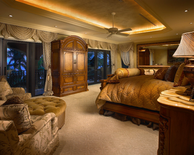 Coral Gables Mansion Mediterranean Bedroom Miami