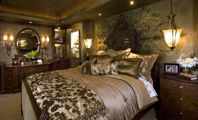 luxury master bedroom suite mediterranean bedroom - High End Master Bedroom Furniture
