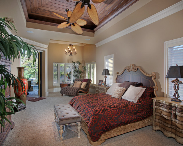 Mediterranean dream mediterranean bedroom miami by for Tuscany bedroom designs