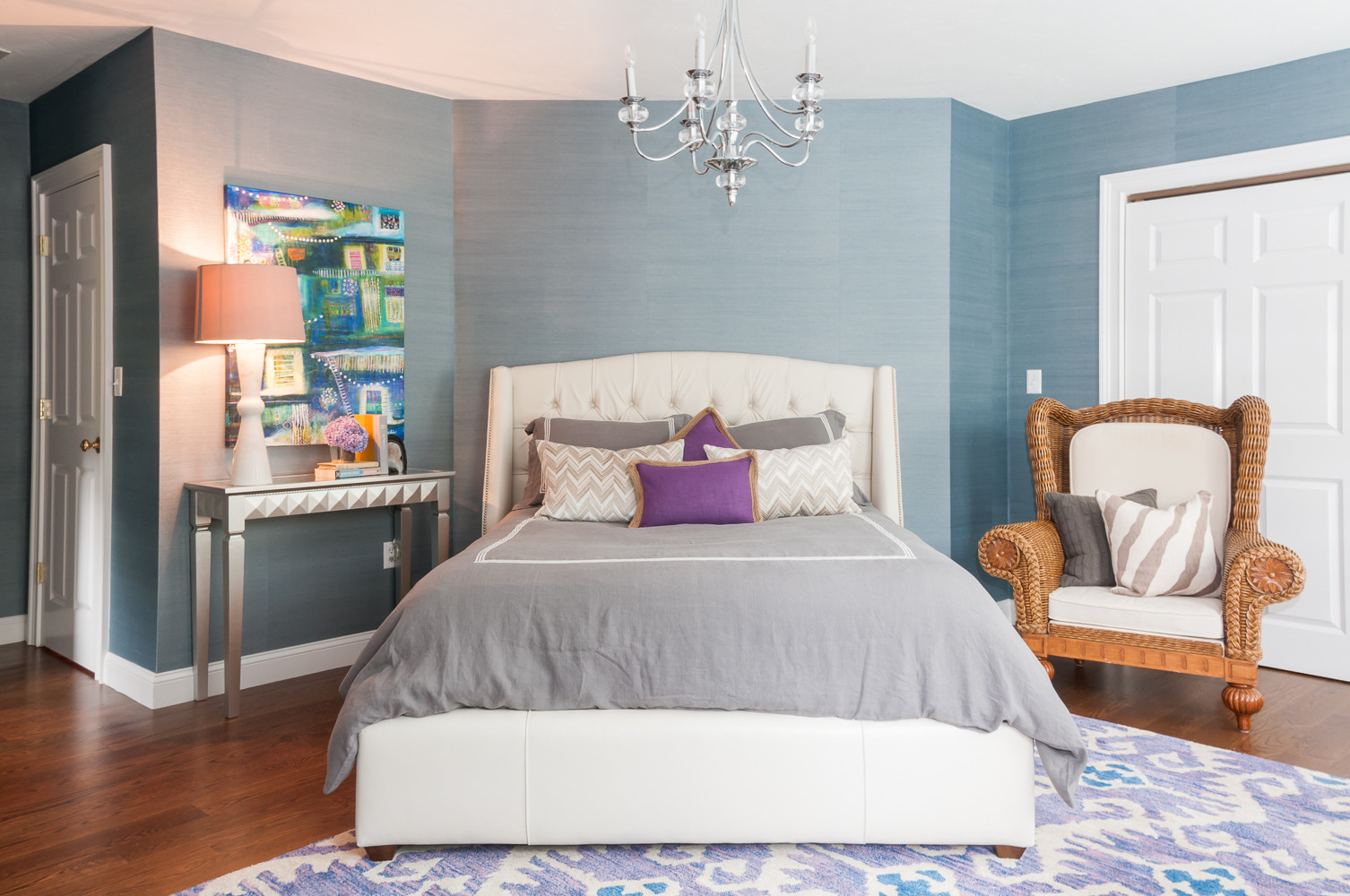 Purple And Blue Houzz