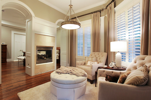 Memorial Hamptons Style - Traditional - Bedroom - houston ...