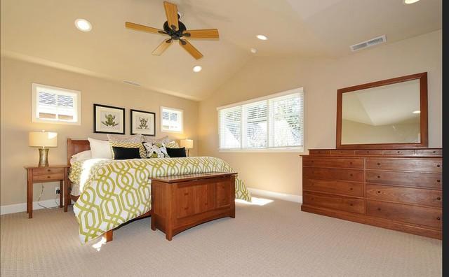 Menlo Park Craftsman 2nd Story Addition traditional-bedroom