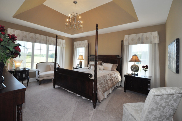 Model Home Linden 2014 MBA Parade Of Homes Model Traditional Bedroom