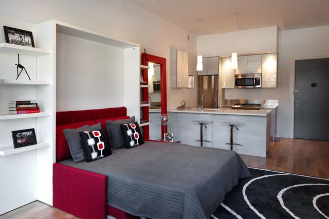 Modern Studio Apartments mercedes house - midtown modern interior design - studio apartment