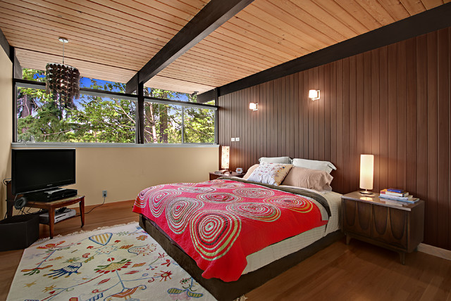 Mercer island midcentury modern - Midcentury modern bedroom furniture ...