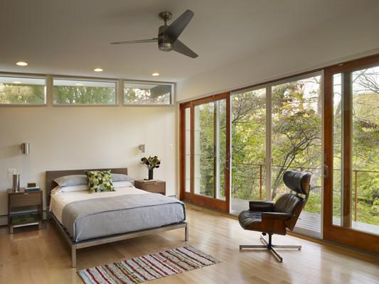 Metcalfe Architecture & Design ©2009 modern-bedroom