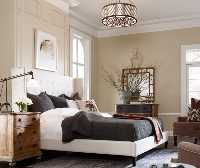 eclectic bedroom by Zin Home
