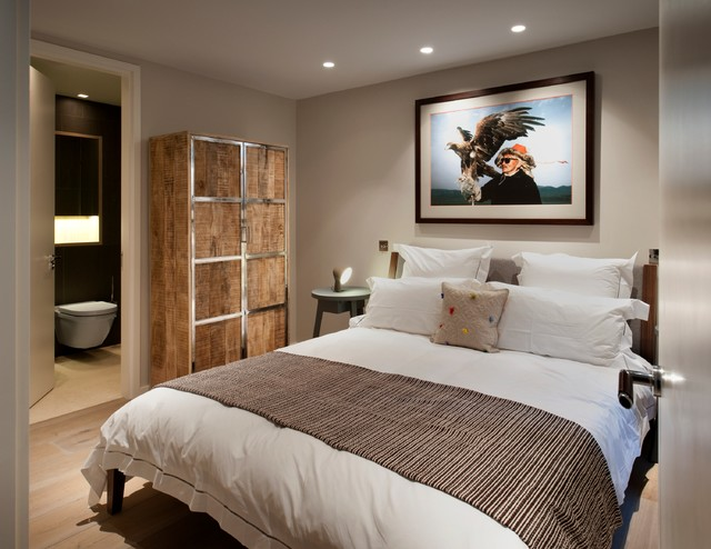 Superbe Mews House Refurbishment In London FitzroviaContemporary Bedroom, London