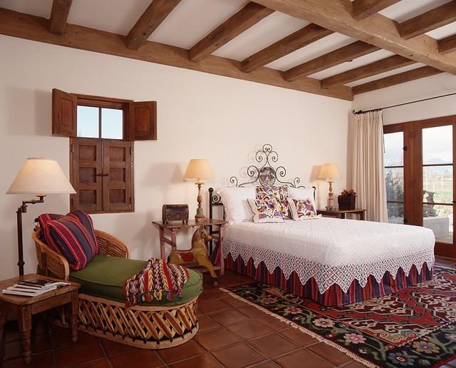 mexican hacienda. Black Bedroom Furniture Sets. Home Design Ideas